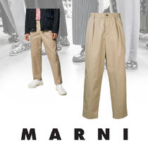 MARNI Tapered Pants Plain Tapered Pants