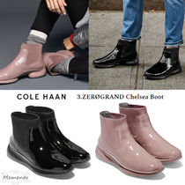 Cole Haan Round Toe Enamel Plain Ankle & Booties Boots