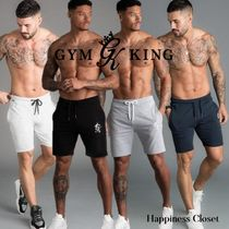 Gym King Plain Joggers Shorts