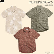 Ron Herman Tropical Patterns Short Sleeves Handmade Shirts