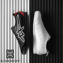 GIVENCHY Street Style Collaboration Plain Leather Sneakers