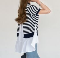 Stripes Sleeveless Tanks & Camisoles