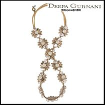 Deepa Gurnani Blended Fabrics Handmade With Jewels Elegant Style Headbands