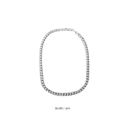 Unisex Street Style Chain Plain Stainless
