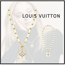 Louis Vuitton 18K Gold Elegant Style Necklaces & Pendants