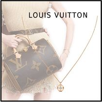 Louis Vuitton 2019-20AW BLOSSOM PENDANT pink gold free pendant