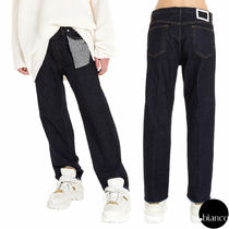 Maison Martin Margiela Stripes Denim Street Style Plain Jeans & Denim