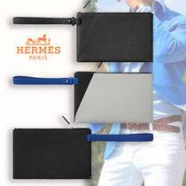 HERMES Leather Clutches