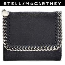 Stella McCartney FALABELLA Unisex Plain Folding Wallets