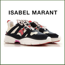 Isabel Marant Rubber Sole Low-Top Sneakers