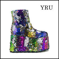 YRU Wedge Boots