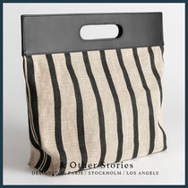 & Other Stories Casual Style Blended Fabrics Street Style 2WAY Totes