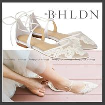 BHLDN Flower Patterns Handmade Lace Shoes