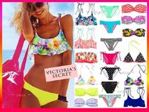 Victoria's secret Tropical Patterns Plain Halter Bikinis