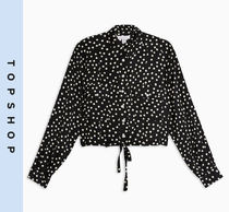 TOPSHOP Dots Casual Style Shirts & Blouses