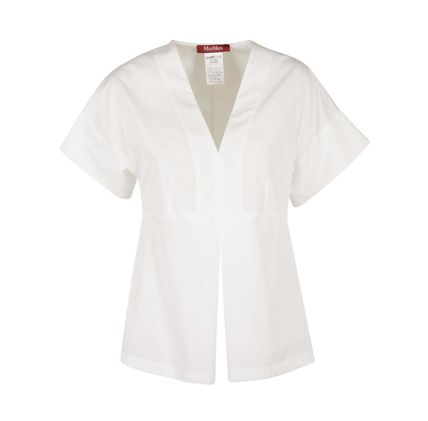 Cotton Short Sleeves Shirts & Blouses