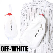 Off-White Casual Style Street Style Shoulder Bags