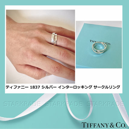 Casual Style Silver Rings