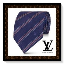 Louis Vuitton Stripes Silk Ties