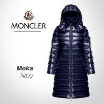 MONCLER MOKA Plain Long Down Jackets