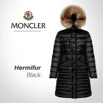 MONCLER HERMIFUR Plain Long Down Jackets