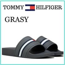Tommy Hilfiger Unisex Street Style Plain Shower Shoes Shower Sandals