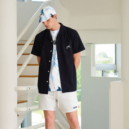 KITH NYC Shirts Button-down Street Style Short Sleeves Shirts 4