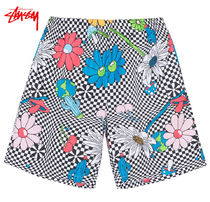 STUSSY Other Check Patterns Flower Patterns Casual Style