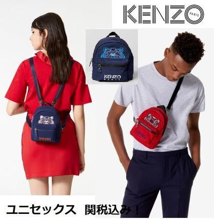 Casual Style Unisex Canvas 3WAY Backpacks