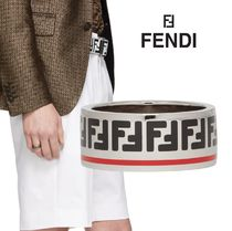 FENDI FOREVER Monogram Metal Rings