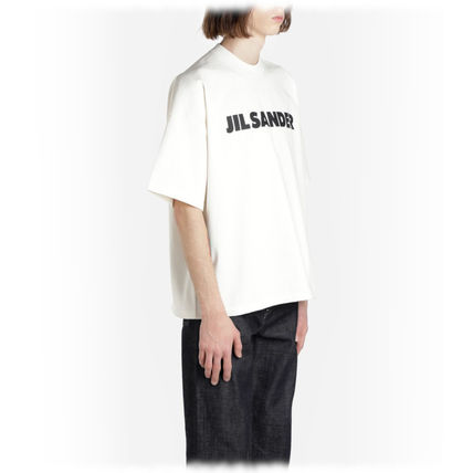 Jil Sander Crew Neck Crew Neck Plain Cotton Short Sleeves Crew Neck T-Shirts 6
