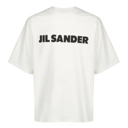Jil Sander Crew Neck Crew Neck Plain Cotton Short Sleeves Crew Neck T-Shirts 3