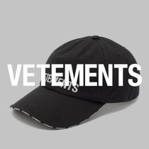 VETEMENTS Caps