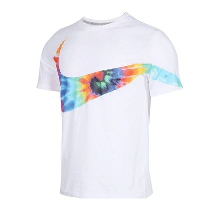 Nike More T-Shirts Street Style Tie-dye Collaboration T-Shirts 4
