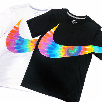 Nike More T-Shirts Street Style Tie-dye Collaboration T-Shirts