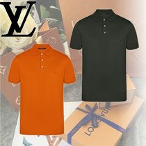 Louis Vuitton Cotton Short Sleeves Polos