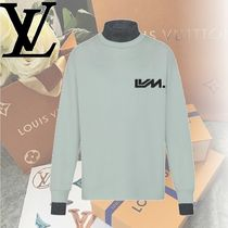 Louis Vuitton Crew Neck Long Sleeves Cotton Long Sleeve T-Shirts