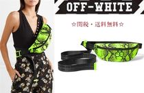 Off-White Other Animal Patterns Leather Messenger & Shoulder Bags