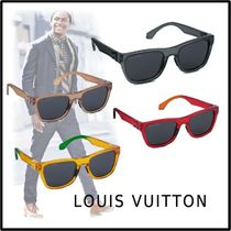 Louis Vuitton 2019-20AW LV RAINBOW SQUARE SUNGLASSES free Sunglasses