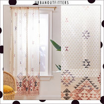 Urban Outfitters Unisex Blended Fabrics Collaboration Curtains