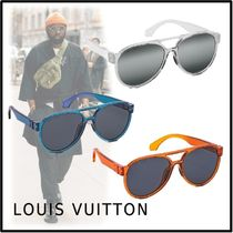 Louis Vuitton 2019-20AW LV RAINBOW PILOT SUNGLASSES free sunglasses