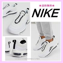 Nike AIR MAX 97 Rubber Sole Lace-up Oversized Low-Top Sneakers