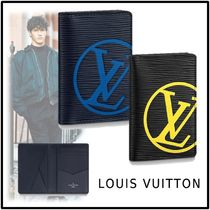 Louis Vuitton 2019-20AW POCKET ORGANIZER blue marine noir one size case