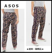 ASOS Printed Pants Paisley Street Style Patterned Pants