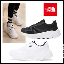 THE NORTH FACE Unisex Street Style Low-Top Sneakers