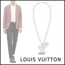 Louis Vuitton 2019-20AW LV CHAIN LINKS NECKLACE noir free necklace