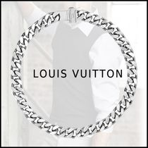 Louis Vuitton 2019-20AW LV CHAIN LINKS NECKLACE silver free necklace