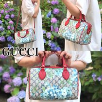 GUCCI Flower Patterns 2WAY Boston & Duffles
