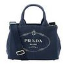 PRADA CANAPA Casual Style Street Style Plain Shoulder Bags