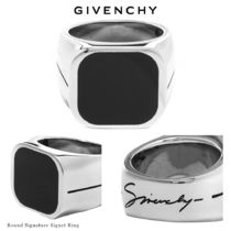 GIVENCHY Blended Fabrics Street Style Plain Rings